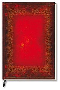 Premium Book Red Book Notizbuch liniert
