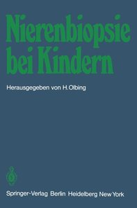 Nierenbiopsie bei Kindern