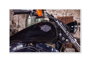 Emotional Moments: Harley Davidson - Wide Glide. UK-Version