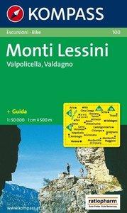 Monti Lessini, Valpolicella, Valdagno 1 : 50 000