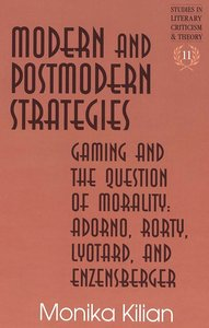 Modern and Postmodern Strategies