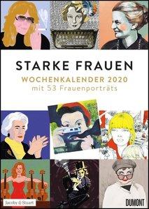 Starke Frauen Wochenkalender 2020 - Mit 53 Wochenblättern - Form