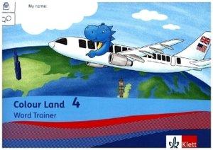 Colour Land ab Klasse 3 - Ausgabe für Bayern. Vokabelheft 4. Sch