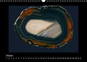 Achate - natürlich schön / immerwährender Kalender (Wandkalender