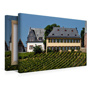 Premium Textil-Leinwand 45 cm x 30 cm quer Weingut Lauer