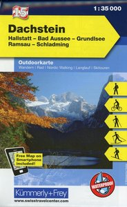 KuF Österreich Outdoorkarte 15 Dachstein 1 : 35 000