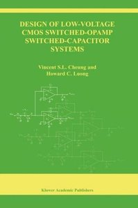Design of Low-Voltage CMOS Switched-Opamp Switched-Capacitor Sys