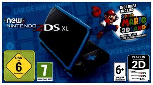 New Nintendo 2DS XL + Super Mario 3D Land, 1 Konsole