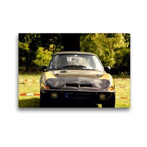 Premium Textil-Leinwand 45 cm x 30 cm quer Opel GT