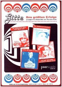 Gitte - Ihre größten Erfolge, für Frauenchor a cappella