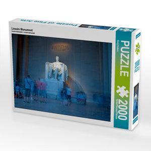 Lincoln Monument 2000 Teile Puzzle quer