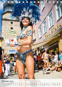 Samba-Festival Coburg - Brasilien-Feeling in Europa (Tischkalend