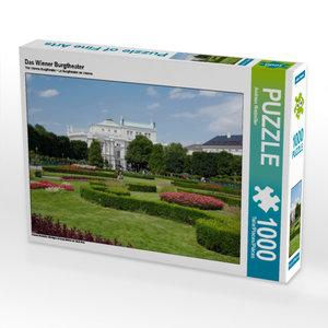 CALVENDO Puzzle Das Wiener Burgtheater 1000 Teile Lege-Größe 64