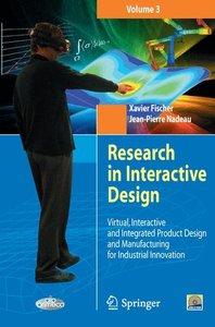 Research in Interactive Design (Vol. 3)