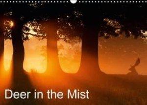 Deer in the Mist (Wall Calendar 2015 DIN A3 Landscape)