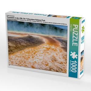 Ein Motiv aus dem Kalender Traumziele in den USA. Der Yellowston