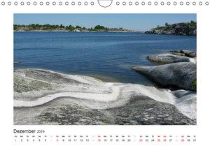 Stockholmer Schärengarten (Wandkalender 2019 DIN A4 quer)