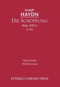 Die Schopfung, Hob. XXI: 2 - Vocal Score