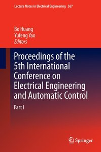 Proceedings of the 5th International Conference on Electrical En