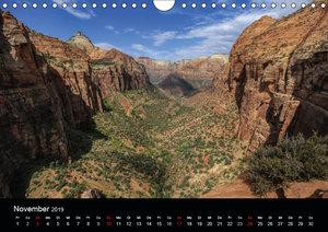 Spektakulärer Westen der USA (Wandkalender 2019 DIN A4 quer)