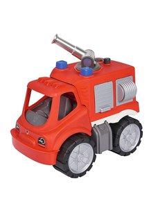 BIG 800055843 - Power Worker Feuerwehr Löschwagen, mit Wasserspr