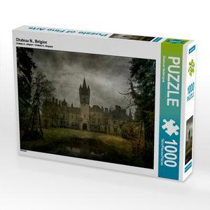 Chateau N., Belgien 1000 Teile Puzzle quer