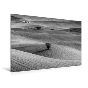 Premium Textil-Leinwand 120 cm x 80 cm quer Solitaire im Val d\'