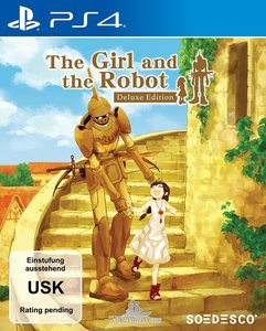 The Girl and the Robot, 1 PS4-Blu-ray Disc (Deluxe Edition)
