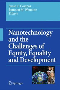 Nanotechnology and the Challenges of Equity, Equality and Develo