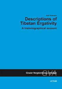Description of Tibetan Ergativitiy