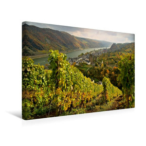 Premium Textil-Leinwand 45 cm x 30 cm quer Oberwesel