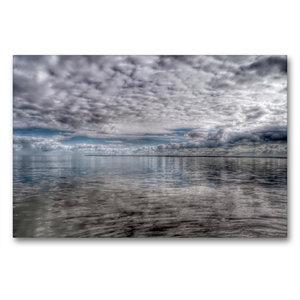 Premium Textil-Leinwand 90 cm x 60 cm quer Wolkenspiel
