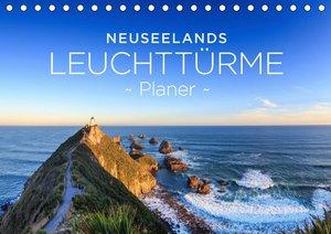 Neuseelands Leuchttürme - Planer (Tischkalender 2020 DIN A5 quer