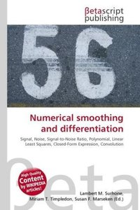 Numerical smoothing and differentiation