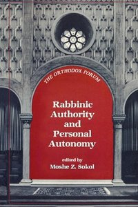 Rabbinic Authority & Personal