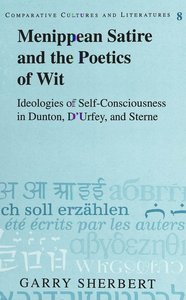 Menippean Satire and the Poetics of Wit