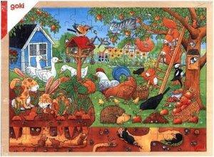 Unser Garten über und unter der Erde (Kinderpuzzle)