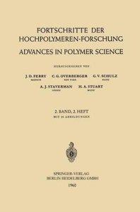 Fortschritte der Hochpolymeren-Forschung / Advances in Polymer S