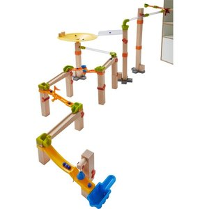 HABA 303968 - Kugelbahn Master Construction Kit, 74-teilig