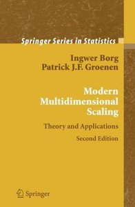 Modern Multidimensional Scaling