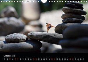 Miniansichten - Kleine Leute unterwegs (Wandkalender 2019 DIN A4
