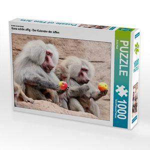 CALVENDO Puzzle Ganz schön affig - Der Kalender der Affen 1000 T