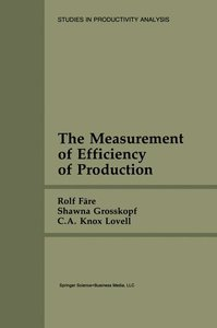 The Measurement of Efficiency of Production