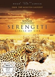 Serengeti - Circle of Life, 1 DVD