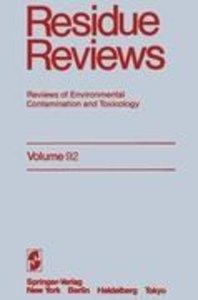 Residue Reviews
