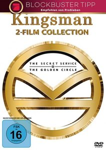 Kingsman - 2-Film-Collection, 2 DVDs