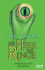 Der Herr der Ringe - Anhänge und Register Neuausgabe 2012