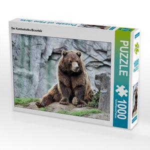CALVENDO Puzzle Der Kamtschatka-Braunbär 1000 Teile Lege-Größe 6