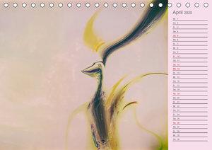 Digitale Malerei / Geburtstagskalender (Tischkalender 2020 DIN A