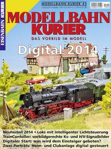 Modellbahn-Kurier 43. Digital 2014